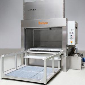 AC Single-Stage Front Loading Spray Wash machine