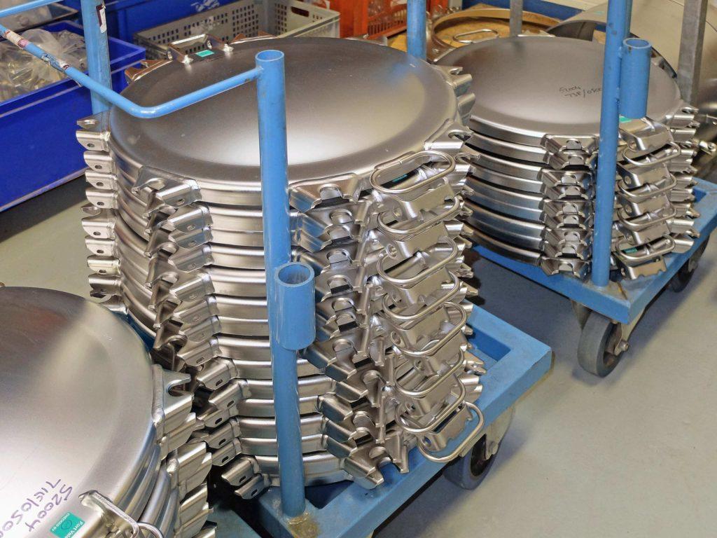 Steel manlids