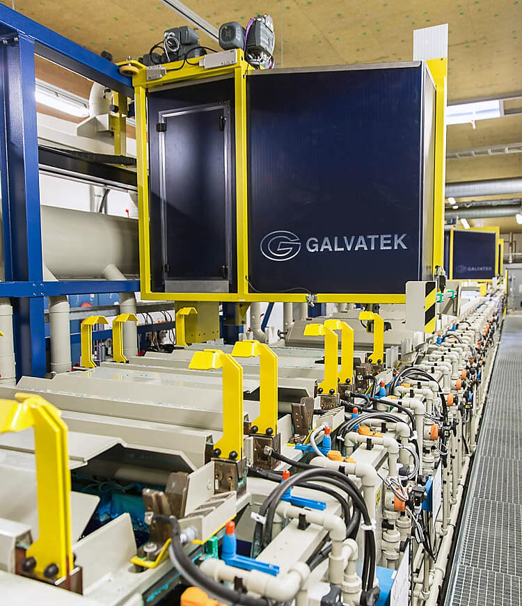Galvatek cleaning line